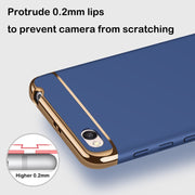 3 In 1 Case For Xiaomi Redmi 4A Case 5.0'' Luxury 360 Degree Protection Ultra Thin Slim Hard Back Cover For Redmi 4A 4 A Cover