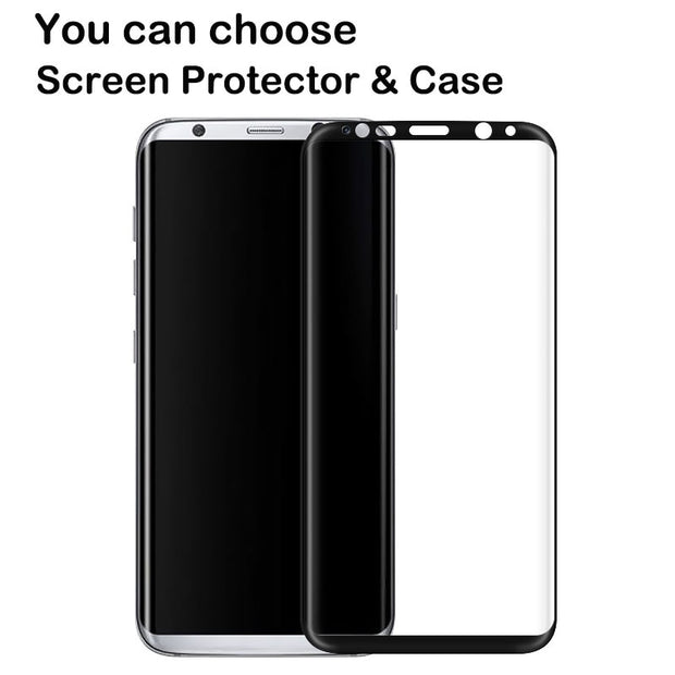 3 In 1 Case Luxury For Samsung Galaxy Note 8 Case Hard Back Cover 360 Degree Protection Ultra Thin Slim For Samsung Note 8 Gold