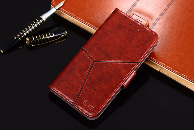 30 Pcs Wholesale Genuine Leather Stand Wallet Case For ZTE Nubia Z11 Nubia Z11mini Card Slot Coque For ZTE Nubia N1