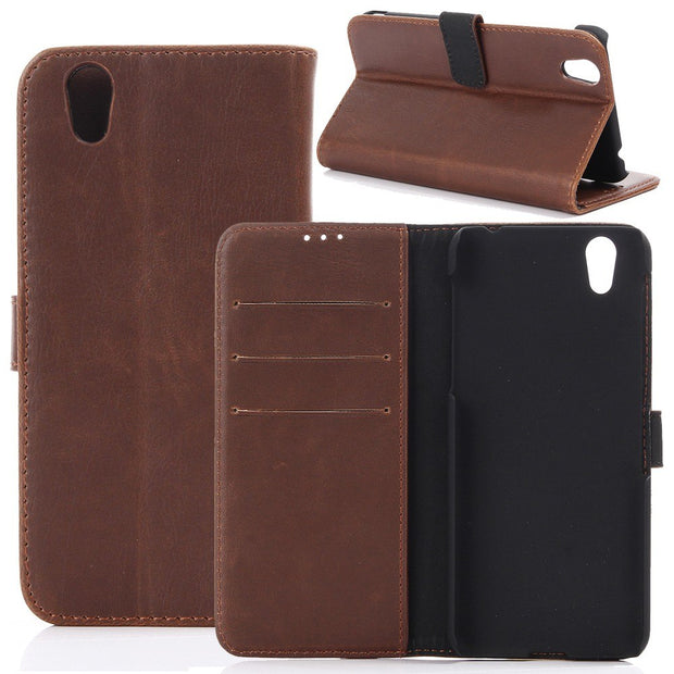 30pcs/lot For Aquos Zeta SH-04H SHV34 P1 Case Crazy Horse Wallet Leather Case With Card Slots For Sharp Aquos Ever SH-02J SHV37