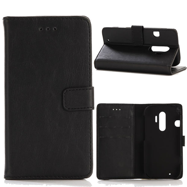 30pcs/lot For Fujitsu Arrows NX F-01J Case Luxury Retro Crazy Horse Leather Case With Stand For Fujitsu DoCoMo F-04J