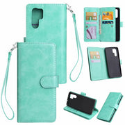 30pcs/lot Free Shipping Multi Functional 9 Card Photo Frame Wallet PU Leather +TPU Case For Huawei Y6 2018 P30 P30PRO
