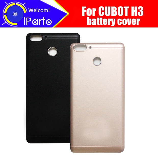 5.0inch CUBOT H3 Battery Cover 100% Original New Durable Back Case Mobile Phone Accessory For CUBOT H3 Cell Phone