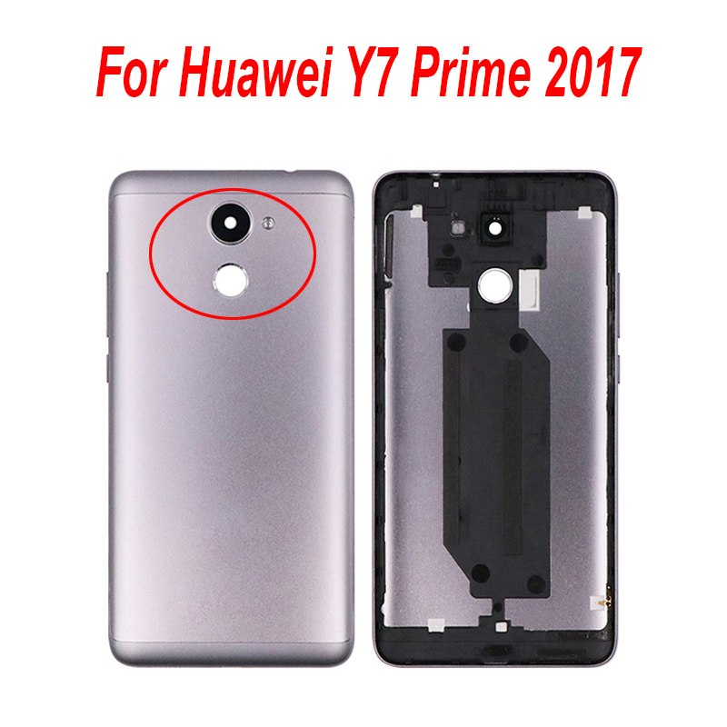 5 5 ''For Huawei Y7 Prime 2017 Battery Case With Heat Dissipation  Replacement Slim Protective Battery Cover For Huawei Y7 2017