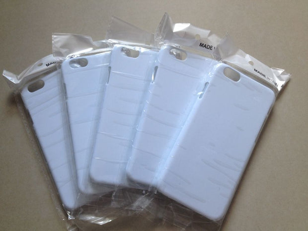 5.5 Inch For Iphone6 Plus Sublimation 3d Case For Iphone 6s Plus 3d White Case Blank Cover 100pcs/Lot
