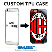 50 Pcs / Lot Custom DIY Print Phone Cases For Samsung A3 2017 A5 2017 S6 S7 S6 Edge Cover Case Personalized TPU Soft Back Shell