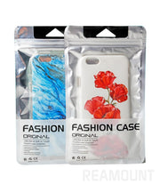 500 Pcs Personalized Design Aluminum Bag Self Adhesive Seal Plastic Package Bags OPP Bag For Mobile Phone Case For IPhone 7