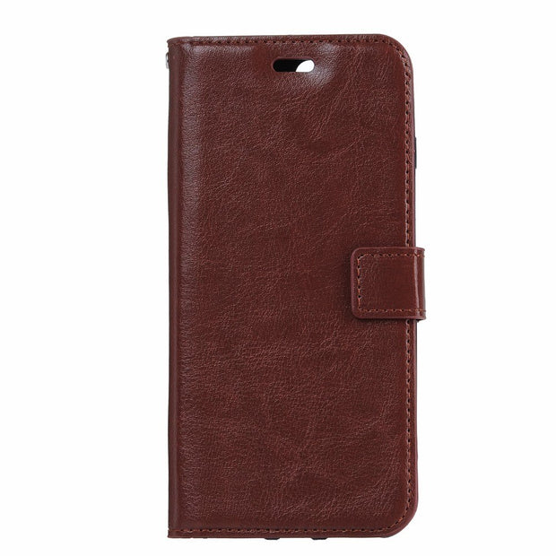 50pcs/lot Free Shipping Soft TPU + PU Leather Crazy Horse Wallet Case For Samsung J5 Prime/J7 Prime/A3 2017/A5 2017/A5/S5/G530