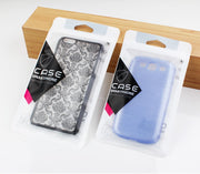 700 Pcs Wholesale Clear Plastic Packaging Bag Cell Phone Case Accessories Retail Packing PVC CPP Bag ForGalaxy S7edge Accessory
