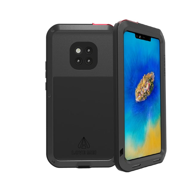 best sneakers bba19 c2148 Aluminum Metal Cover For Huawei Mate 20 Pro Waterproof Full Body Heavy Duty  Armor Case For Huawei Mate 20 Pro Shockproof Case