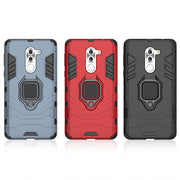 Armor Heavy Duty Robot Black Panther Kickstand Case For Huawei Honor 6X Detachable Rugged Hybrid Back Cover Case For Honor 6X