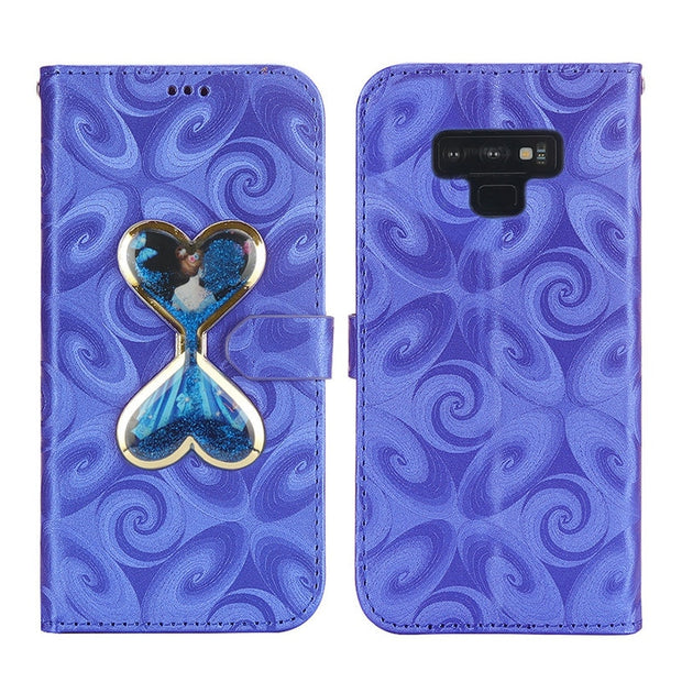 Bling Bling Wallet For Coque Samsung Note 9 Case Samsung S9Plus Case Leather Flip Cover For Samsung Galaxy S9 Plus Cover Note9