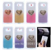 Bling Glitter Sparkle Soft TPU Case For Samsung Galaxy S8 Plus Huawei NOVA Plus G9 P8 Lite 2017 LG V10 Ring Phone Cover 60pcs
