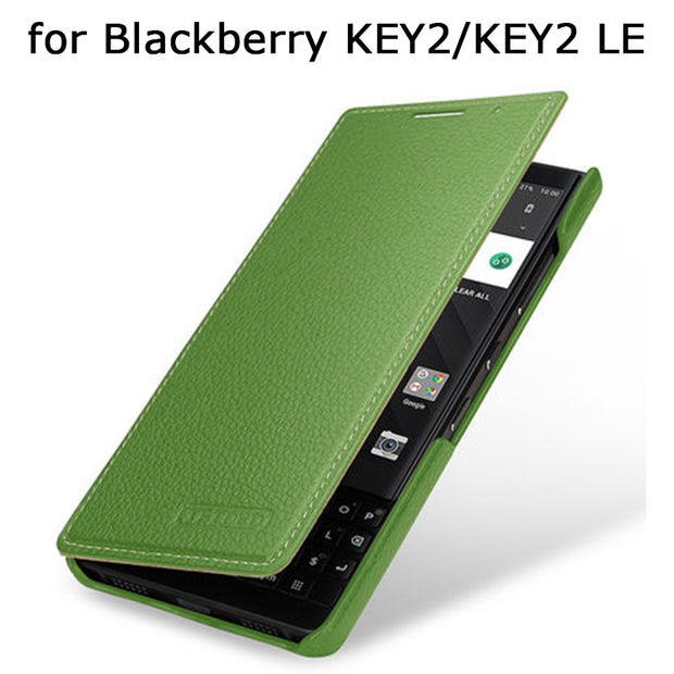new style 3eba0 adaf2 Business Flip Stand Phone Case For Blackberry KEY 2 LE Genuine Leather  Cover For Blackberry KEY2 KEY 2LE KeyOne Fundas Skin