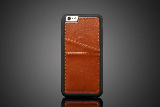 Business Style Luxury Leather Case For Apple Iphone7 8 Plus Cover Fashion Wallet Card Holder Phone Funda Bags For Iphone 7/8