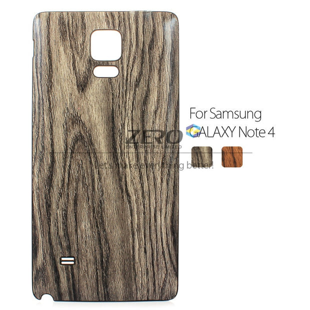 CAPAS For Samsung Galaxy Note 4 Case Wood Wooden Pattern Back Battery Cover For Galaxy Note 4 N910 N910F Case Protective Shield