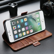 CYBORIS For IPhone6 7 8Plus PU Leather Cover Case Phone Bags Waist Pocket Case For IPhone5s 5se 6s 6 7 8 X Universal Phone Bags