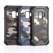 Camouflage Three-in-one Case For Samsung S7 Edge S8 Plus Heavy Duty Protection Case For Samsung Galaxy Note 8 S9 Plus SQ150