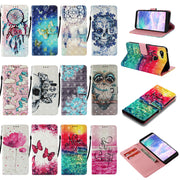 Case For Alcatel 7 (2019) 3D Painting Flip Case For K8 2019 US Version V30 Cover PU Wallet Leather Case Protective Cover