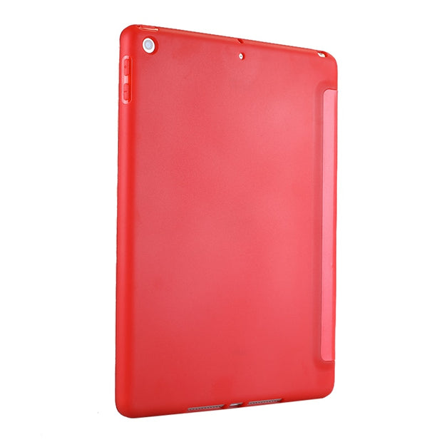 Case For Apple Tablet Pad Mini 4 Case PU Leather Silicone Soft Back Trifold Stand Auto Sleep/Wake Up Smart Cover