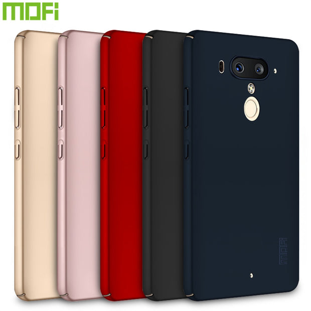 Case For HTC U12 Plus MOFi Brand Luxury 360 Full Body Cases Hard Frosted PC Back Cover For HTC U12 Plus
