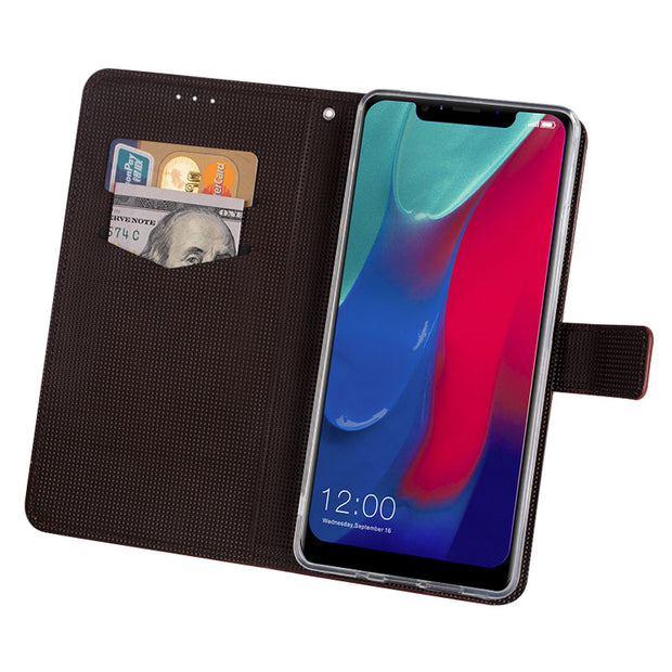Case For Leagoo M11 Cover Luxury Leather Flip Case For Leagoo M11 Protective Phone Case Back Cover