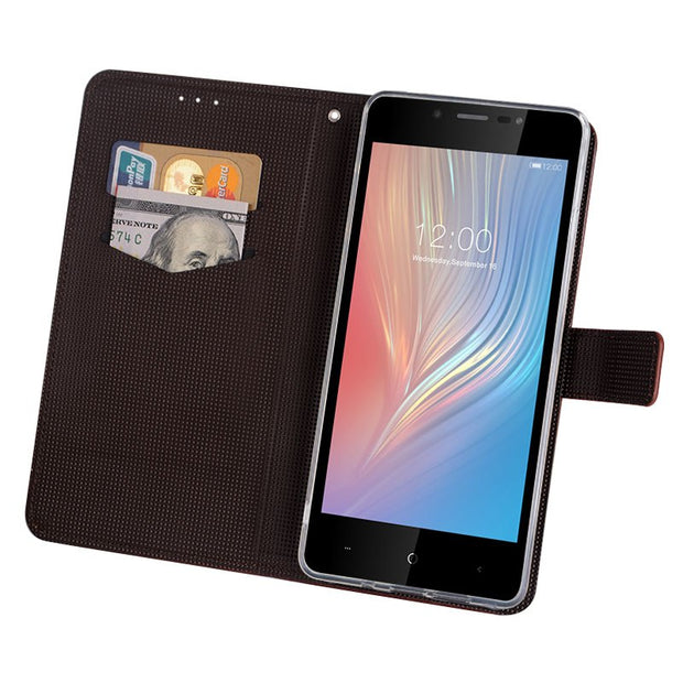 Case For Leagoo Power 2 Cover Luxury Leather Flip Case For Leagoo Power 2 Protective Phone Case Back Cover