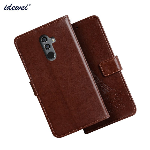 Case For Oukitel K8 Cover Luxury Leather Flip Case For Oukitel K8 Protective Phone Case Back Cover