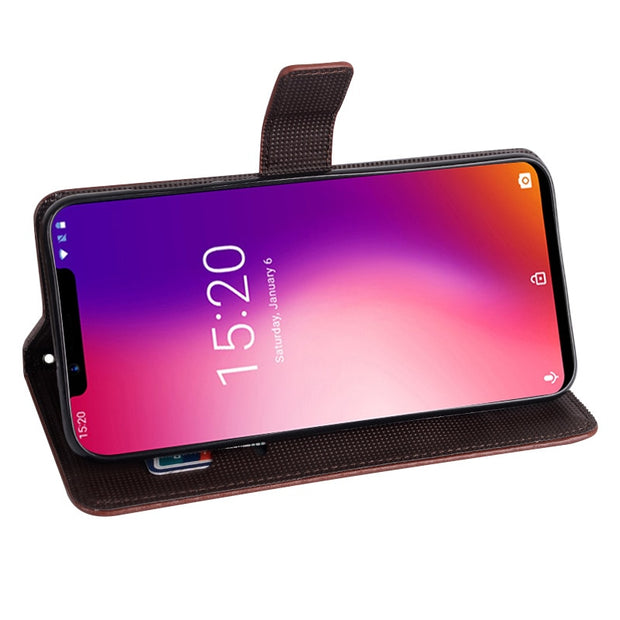 Case For Umidigi One Cover Luxury Leather Flip Case For Umidigi One Pro Protective Phone Case Back Cover