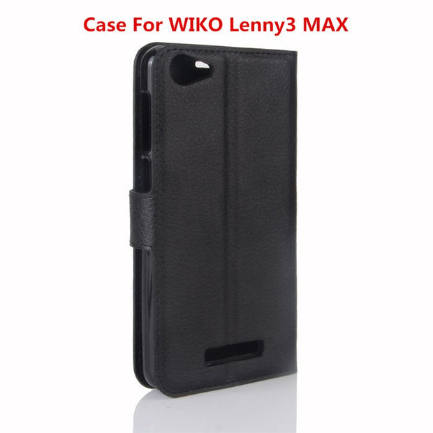 Case For WIKO Lenny3 MAX,Mobile Phone Shell And Soft Shell Leather Jacket Al Car,Wallet Style Cell Phone Shell.9 Colors.