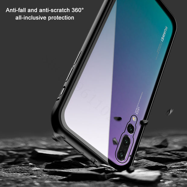 Case On For Huawei Honor 8x Magnetic Adsorption Max Cover Honor8x Cases Honer 8xmax Flip Bumper Coque Protection Fundas Huawey