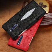 Custom Pearl Leather Phone For Nokia 9 Case Pearl Half-pack Mobile Phone Case Business Animal Mobile For Nokia Lumia 950 Case
