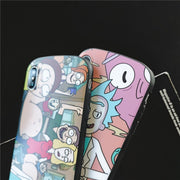 Cute Cartoon Rick And Motti Phone Case For IPhone XS MAX XR XS 7 8 6 6s Plus Case For IPhone X Soft Silicon Arc Case Cover