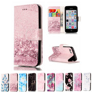 DAXING Wallet Flip Case For IPhone 5s 5 SE Apple Brand PU Leather Cover + Card Holder Stand I Phone Bag Coque Fundas For IPhone5
