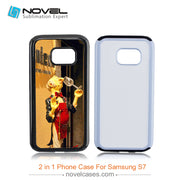 Double Protection 2in1 Case For Samsung S7,PC+TPU Phone Case
