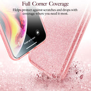 ESR Case For IPhone X XS XR XS Max Luxury Back Cover Shinning Protective Bumper Bling Glitter Cover For IPhone 7 8 Plus Fundas