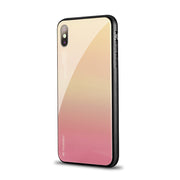 FLOVEME Luxury Gradient Plated Case For iPhone 11 11Pro XR X XS Max Blue Ray Light Clear Cover Case For iPhone 7 8 6 6s Plus 5S