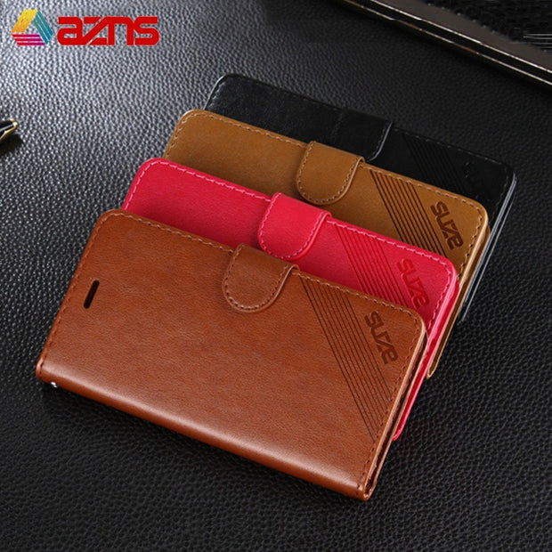Flip Case For Xiaomi Redmi Note 2 4X 5 6 Note5A Smooth PU Leather Wallet Phone Cover With Stand Feature For Redmi S2 Note6