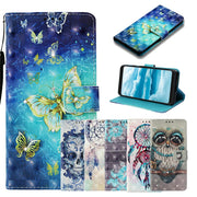 Flip Leather Case For Samsung Galaxy A7 A9 Galaxy J4 Galaxy J6 Pl Wallet Stand PhoneCase Wallet Card Slot Case Cover Coque