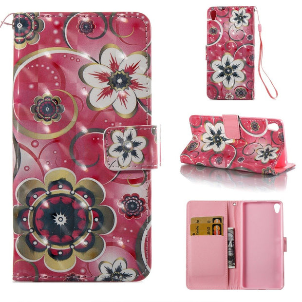 Flip Leather Case SFor Fundas Sony Xperia XA Case For Coque Sony Xperia XA Dual F3111 F3113 F3115 Wallet Cover Stand Phone Cases