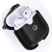 For Apple Air Pods Charging Box Protective Cover Luxury PU Leather Bluetooth Wireless Earphone Case For AirPods