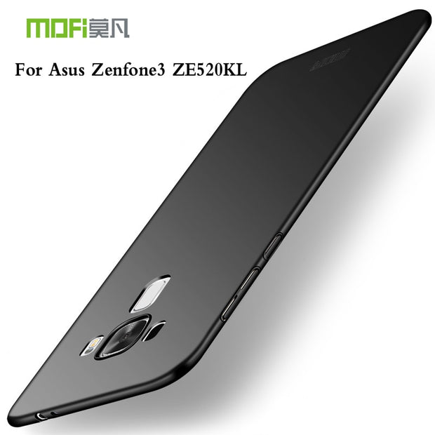 For Asus Zenfone 3 ZE520KL Case 5.2 Inch MOFi Phone Shell Hard PC Protective Back Cover Case For Asus Zenfone 3 ZE520KL Cover