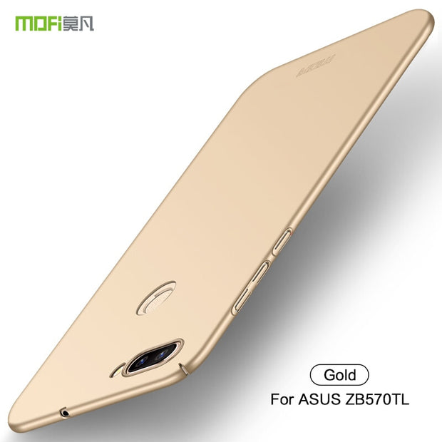 For Asus Zenfone Max Plus M1 ZB570TL Cover Case Original MOFI Hard Case For Asus Zenfone Max Plus M1 ZB570TL Case Phone Shell
