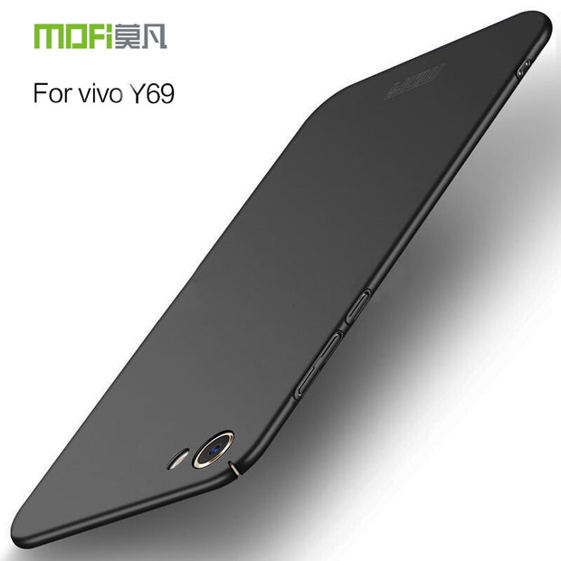 "For BBK Vivo Y69 Y69A 5.5"" Case Mofi Original Hard Back Full Cover Case For BBK Vivoy69 Y69A Matte Plastic Luxury Fashion Fundas"