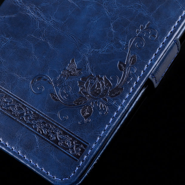 For Doogee BL7000 PU Leather Flip Cover Protectiv Phone Case With Card Slot Cash Clip Magnetic Closu For Doogee BL7000