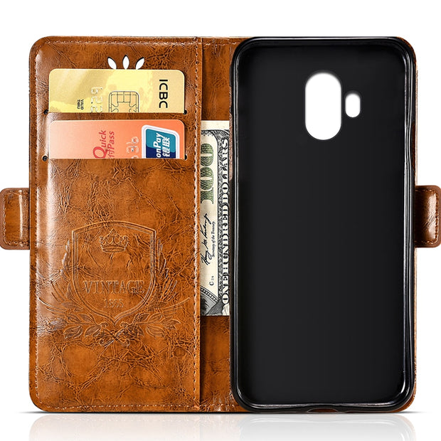 For Doogee Mix Lite PU Leather Flip Cover Protectiv Phone Case With Card Slot Cash Clip Magnetic Closu For Doogee Mix Lite