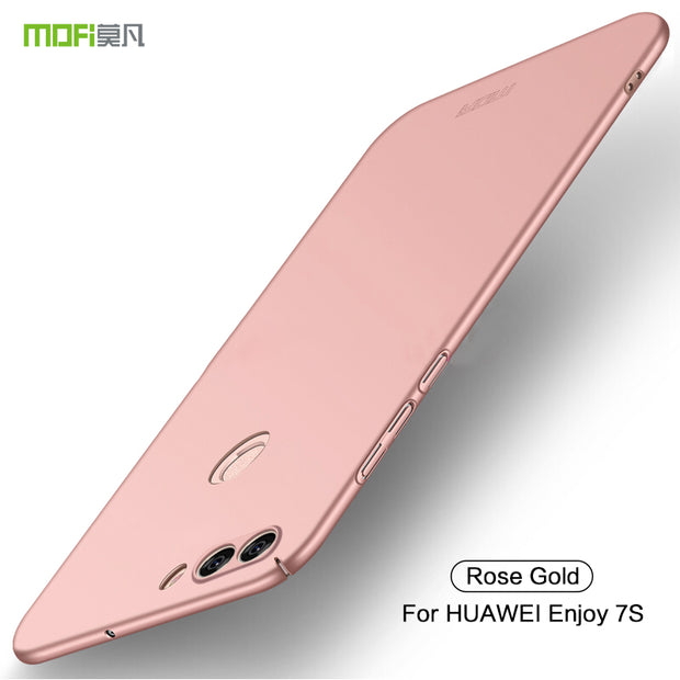 For Huawei Enjoy 7S Back Cover Case Original MOFI Hard Case For Huawei Enjoy 7S Mobie Phone Case Phone Shell For Huawei Enjoy 7S