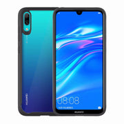 For Huawei Enjoy 9 Case Shockproof Bumper Silicone PC Transparent Cover Luxury For Huawei Enjoy9 Armor Case Protective Shield