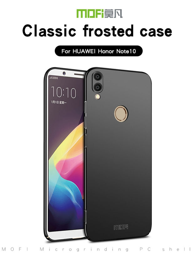 For Huawei Honor Note 10 Mobie Phone Case Cover MOFI Fitted Cases PC Hard Case For Huawei Honor Note 10 Back Cover Ultra Thin