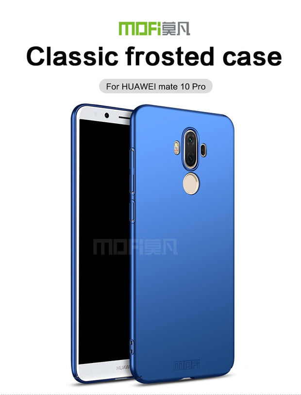 For Huawei Mate 10 Pro Back Cover Case MOFi Back Luxury Coque Hard Full Case Cover For Huawei Mate 10 Pro Camera Protection